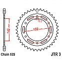 3-42 REAR SPROCKET CARBON STEEL