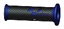 COMPETITION BAR GRIPS MOTO GP BLUE/BLACK  (PAIR)