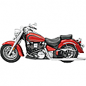 YAMAHA XV1600A ROAD STAR, XV1600A WILD STAR, XV1700A ROAD STAR, XV1700AM ROAD STAR MIDNIGHT, XV1700AT ROAD STAR SILVERADO 1999-2007 HEADER POWER CURVE TRUE-DUAL CROSSOVER CHROME