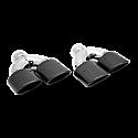 Leggera 4 x 3 Inch Carbon Fibre Twin (Pair)