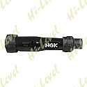 SPARK PLUG CAP SB05F NGK WITH BLACK BODY FITS THREADED TERMINAL