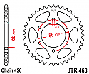 468-46 REAR SPROCKET CARBON STEEL