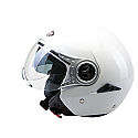 RSV18 OPEN FACE HELMET IN WHITE