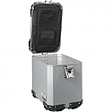 MOOSE RACING MEDIUM SIDE CASE EXPEDITION SILVER