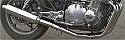 SUZUKI GS650 GT 4-1 Stainless Steel Exhaust System Road Legal