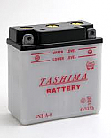 MOTORCYCLE BATTERY 6N11A-4 BUDGET 6V