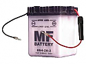 MOTORCYCLE BATTERY 6N4-2A-2 BUDGET 6V