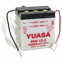 MOTORCYCLE BATTERY 6N6-1D-2 BUDGET 6V