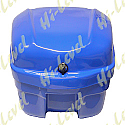 SCOOTER TOP BOX FIBREGLASS - BLUE