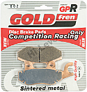 GOLDFREN GPR-002, VD340, FA135, FA228, FA214, 202, FDB497, SBS611 (PAIR)