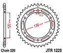 1220-38 REAR SPROCKET CARBON STEEL