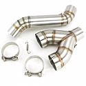 BMW S1000R 2010-11 Stainless Steel De Cat Link Pipe