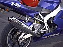 YAMAHA YZF600 R6 2003-2005 MODELS PREDATOR ROAD LEGAL SILENCER