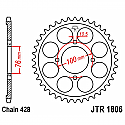 1806-56 REAR SPROCKET CARBON STEEL