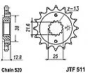 511-15 FRONT SPROCKET CARBON STEEL