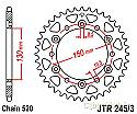 245/3-46 REAR SPROCKET CARBON STEEL