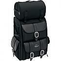 SADDLEMEN SISSY BAR BAG TEXTILE BLACK - S3500