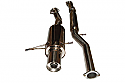 Subaru Impreza HKS Style Cat Back Performance Exhaust system. Fits Classic Impreza up to 2001
