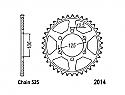 2014-50 REAR SPROCKET CARBON STEEL