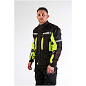 SIGNAL JACKET UNISEX BLACK/YELLOW