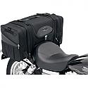 SADDLEMEN DELUXE TAIL BAG TEXTILE BLACK - TS3200S