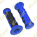 "GRIPS CONTROL FINGER BLUE WITH BLACK INLAY 7/8"" HANDLEBARS"