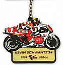 Legends, Kevin Schwantz #34 MOTOGP KEY RING