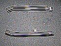 "TRIUMPH TIGER 900cc 1994-05 SILENCER LINK PIPES 50.8mm (2"") O/D (PAIR)"