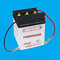 MOTORCYCLE BATTERY 6N4-2A BUDGET 6V