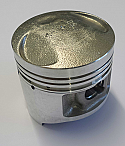 YAMAHA SR125, XT125, ST125 (25A) LEXMOTO ZSF125 (STD TO 1.00mm OVERSIZE) PISTON KIT