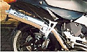 "Honda VFR800 FW,FX,FY ( RC46A) Exhaust to Silencer HIGH LEVEL Link Pipe 50.8mm (2"")"