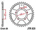 829-47 REAR SPROCKET CARBON STEEL