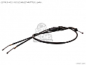 Honda CB125 Superdream Throttle Cable P/No 17910KC1000