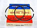 Kawasaki NOS NEW 13024-054 Piston Ring Set O/S .040 S3 KH Mach II KH400 1974-78