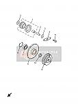 YAMAHA 90387168S200 STARTER CLUTCH COLLAR.XN125 YP125