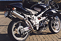 SUZUKI TL1000S 1997-2001 (JS1AG) HI-LEVEL SILENCERS ROAD LEGAL WITH REMOVABLE BAFFLES PAIR