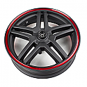 LEXMOTO DIABLO FRONT WHEEL 13x3.50 For LJ125T-8M