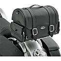 SADDLEMEN EXPRESS DRIFTER TRUNK BAG SYNTHETIC LEATHER BLACK