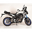 YAMAHA MT-09, MT-09 ABS, MT-09 ABS STREET RALLY, MT-09 ABS TRACER, MT-09 ABS SPORT TRACKER 2014-2016 FORCE FULL SYSTEM DARK STYLE (S/S) MUFFLER & S/S HEADER