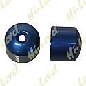 HONDA CBR600F BAR END COVER BLUE