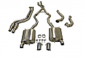 BMW E90/E92 335i Manifold Back Performance system including 200 cell sports cats and front pipes