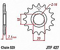 427-12 FRONT SPROCKET CARBON STEEL
