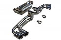 Ferrari F430 Cat Back Performance Exhaust System including vacuum valves