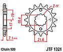1321-14 FRONT SPROCKET CARBON STEEL