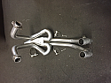 HONDA VFR400 NC24 RH/RJ 1987-88  EXHAUST DOWN PIPES & COLLECTOR
