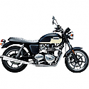 "TRIUMPH BONNEVILLE 865, TRIUMPH BONNEVILLE 865 SE 2009-2016 MUFFLER SLIP-ON 3.5"" PERFORMANCE CHROME"