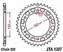 1307-42 REAR SPROCKET CARBON STEEL