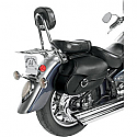 WILLIE & MAX SMALL BELTED REVOLUTION SADDLEBAG - HARD MOUNT
