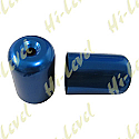 SUZUKI GS500E, SUZUKI GSX750F, SUZUKI RF900R, SUZUKI GSXR1100 BAR END COVER BLUE