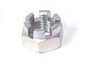 Wheel axle nut, Rear